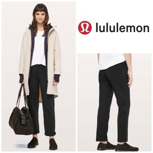 "NWOT Lululemon On The Move Pant Ponte *28"" Black"